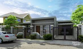 Zen Home Design Philippines Modern Bungalow House Exterior Design Modern Bungalow Zen House Modern
