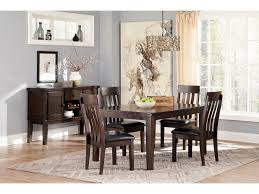 Five Piece Dining Room Sets Signature Design By Ashley Haddigan 5 Piece Rectangular Dining