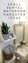 How To Make Small Bathroom Look Bigger 25 Best Rental Bathroom Ideas On Pinterest Small Rental