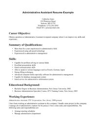 resume objective statement administrative assistant   Template   objective statements for resumes
