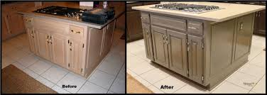 Oak Kitchen Cabinets Refinishing Refinishing Pickled Oak Cabinets Inspirations U2013 Home Furniture Ideas
