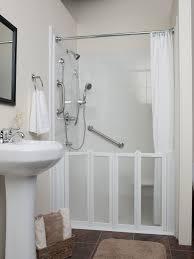 fine small bathroom shower stall ideas ceramic tile space big