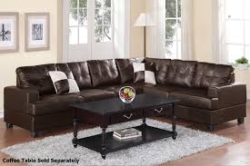 Sofa With Wood Trim by Decor Brown Leather Sectional Sofa With Nailhead Trim And Wood