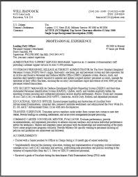 Sample Resumes Military to Civilian Resume Examples happytom co