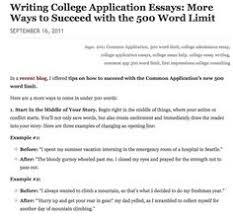Essay for grad school admission