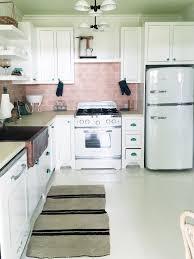 Vintage Kitchen Backsplash Retro Kitchen Cococozy