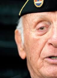 World War II veteran salutes comrades   News   Citizens      Voice Citizens  Voice