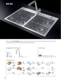 Foster General Catalogue - Foster kitchen sinks