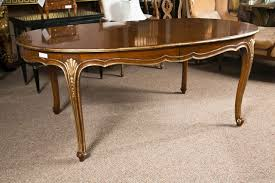 Oval Dining Room Tables French Louis Xv Style Oval Dining Table By Jansen At 1stdibs