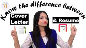 cover letter vs resume what is the difference between a resume and a cover letter ii what is the difference between a resume and a cover letter ii interview tips youtube