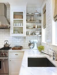 white backsplash subway tiles for your kitchen outofhome