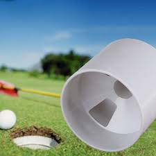 Backyard Golf Hole by Aliexpress Com Buy 1pc New Training Golf Aids White Plastic Golf
