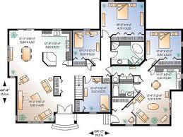 100 large house plans best 25 single storey house plans