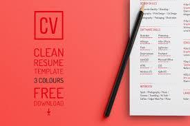Free Creative Resume Templates   goodshows