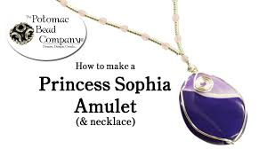 princess sophia amulet necklace