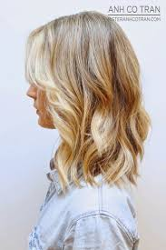 mid length wavy hairstyles best haircut style