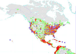 Population Density Map United States by Geography Of Data Montessori Muddle