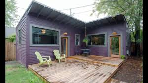 Small House Plans Cottage by Tiny Purple Cottage In Portland Amazing Small House Design Youtube
