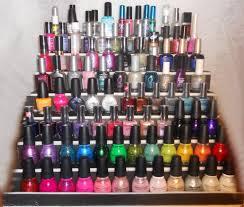 prettyfulz make your own nail polish display diy