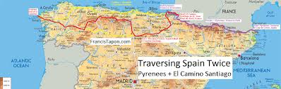 Map Of France And Spain by 10 Reasons Why El Camino Santiago Spain Trails Travels