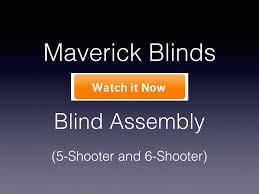 maverick 6 shooter deer hunting blind in green with slide lock