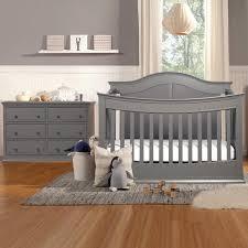 Baby Nursery Furniture Set by Davinci Meadow 2 Piece Nursery Set 4 In 1 Convertible Crib And