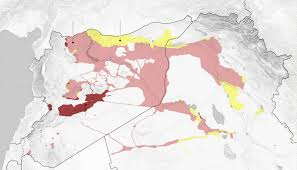 Iraq Syria Map by Isis U0027 Territory Shrank In Syria And Iraq This Year The New York