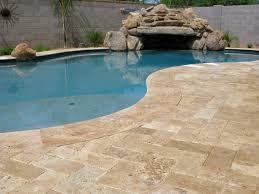 Backyard Creations Frederick Md by Walnut Travertine Flagstone Is A Perfect Option To Put Next To