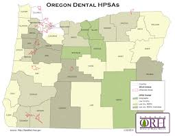 Springfield Oregon Map by Health Care Shortage Oregon Office Of Rural Health Ohsu