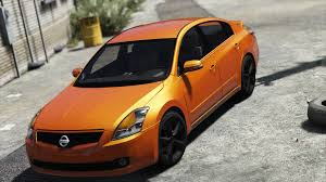 nissan altima 2016 no brasil nissan altima 3 5se add on replace template gta5 mods com