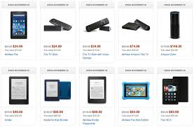 amazon tv black friday deal amazon echo and fire tv products all discounted for black