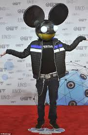 Deadmau5 Costume Halloween Deadmau5 Perform Australia Sensation Festival Daily