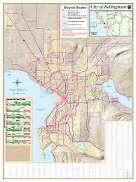 Map Of Washington Cities by Bellingham Washington City Map Washington U2022 Mappery