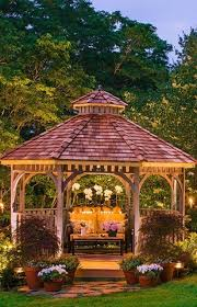 Outdoor Lighting Fixtures For Gazebos by 334 Best Pictures Of Gazebos Images On Pinterest Backyard Ideas