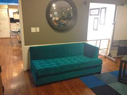Turquoise And Green Lounge Room Ideas Furniture Astounding Green Velvet Tufted Teal Couch With Round