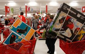 black friday target map store target shoppers wait in line online on cyber monday wired