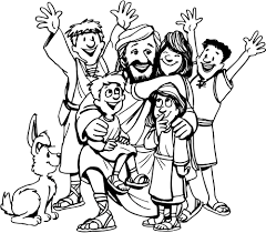 religions colorings free jesus coloring pages for kids