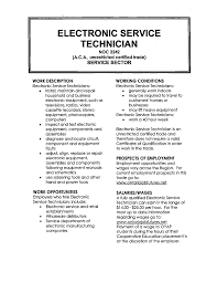 Computer Technician Resume Sample by 18 Electronics Technician Resume Samples Professional