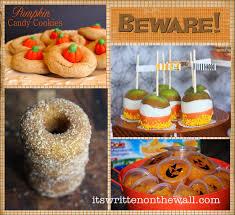 it u0027s written on the wall 25 halloween treat dessert ideas for