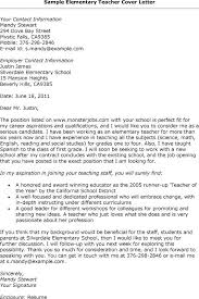 Cover Letters For Teaching Jobs  job position cover letter  cover