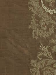 rainbow embroidered classic damask fabric sample