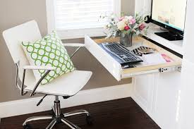 Create A Family Room Office Nook In A Small Space Pink - Family room office