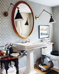 Small Powder Room Wallpaper Ideas Storage Inspiration In The Powder Room This Is Glamorous