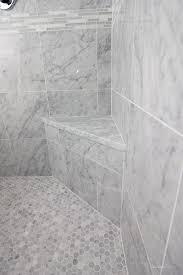 footstep in shower main ensuite pinterest spa shower mosaic