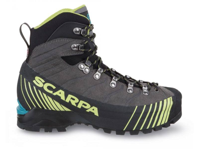 Scarpa Ribelle HD Mountaineering Boots Titanium/Lime Medium 39.5 71085/250.4-TitLim-39.5