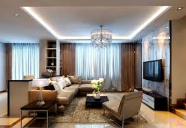 modern style living room curtains interior design