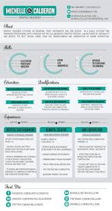 Infographics   Infographic Resume by Michelle Calderon