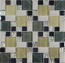 crystal glass tile sheets hand painted kitchen backsplash tile front of crystal glass tile vitreous mosaic wall tiles