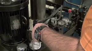 setting system relief pressure directional control valve youtube