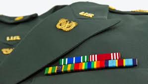 military uniform standing for military resume writing ResumeWriting com